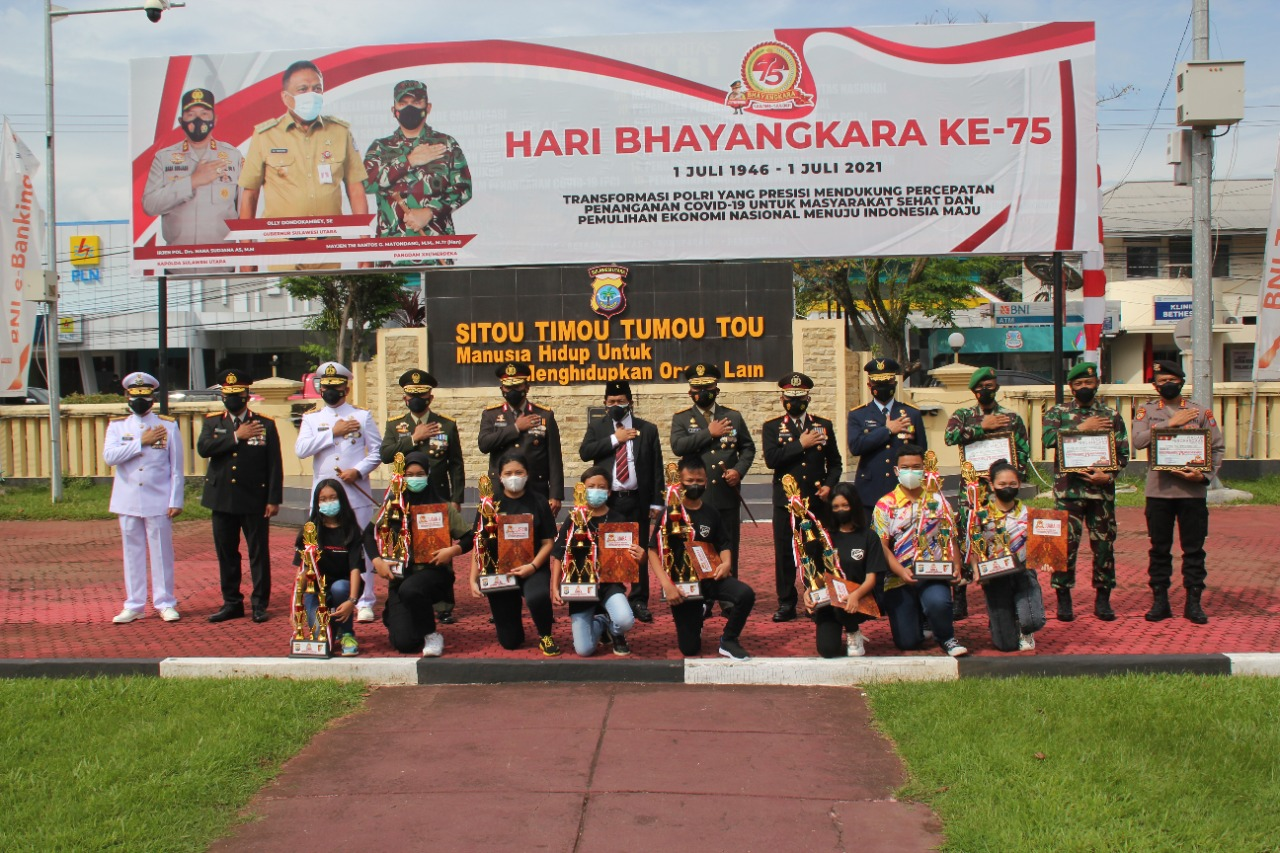 Forkopimda Lomba Menembak Bhayangkara 75th Anniversary Shooting Championship 2021 Piala Kapolda Sulut