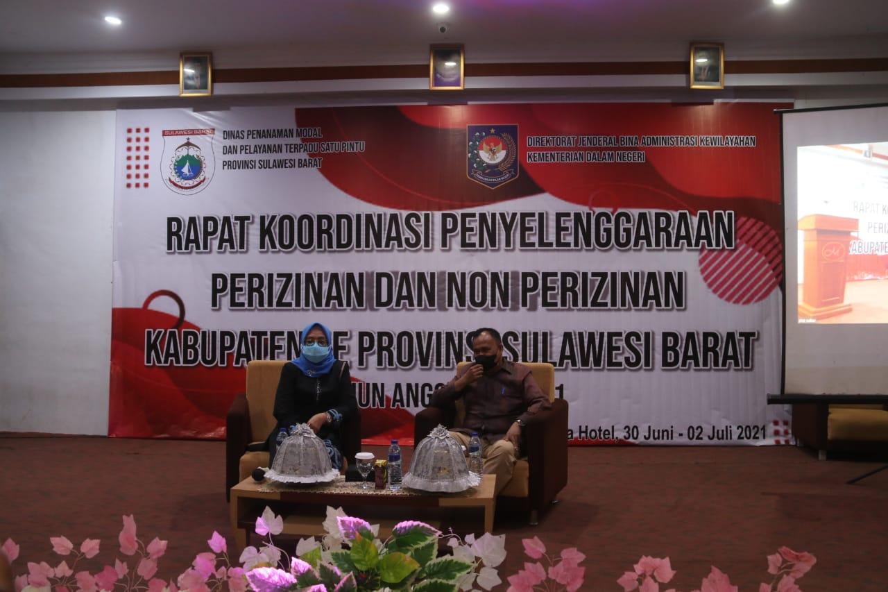 Melalui Rakor PTSP, Wagub Dorong Penyelenggaraan PTSP Berbasis Elektronik