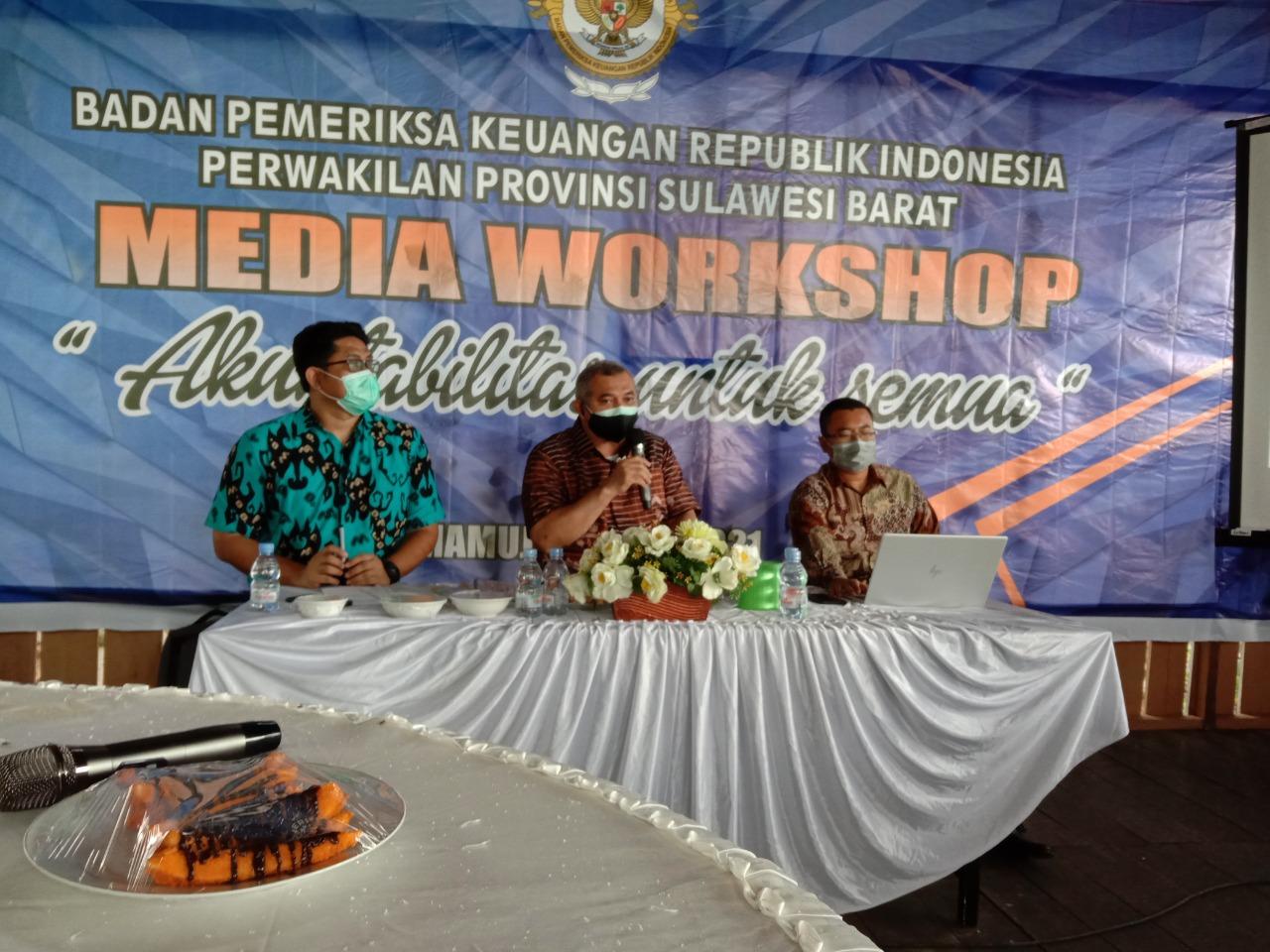 BPK RI Perwakilan Sulbar Gelar Media Workshop 2021