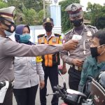 Polres Polman , Penyekatan PPKM di Perbatasan Sulbar - Sulsel