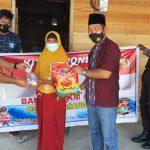 Polres Pasangkayu Door Berbagi Daging Qurban Ke 300 KK