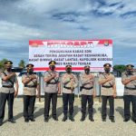 Kapolres Mateng Pimpin Upacara Sertijab dan Pengukuhan Pejabat di Lingkungan Polres Mamuju Tengah