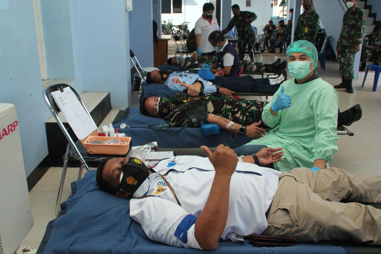 Danlanud Sam Ratulangi: Setetes Darah Sangat Berarti Bagi Mereka Yang Membutuhkan