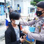 Operasi Yustisi, Polres Majene Kembali Ajak Warga Pakai Masker
