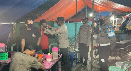 Polres Polman Ajak Warga Masyarakat Disiplin PPKM Level 3