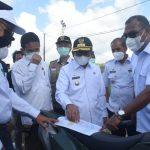 Gubernur Sulbar Tinjau Lahan Persiapan Pembangunan BLK Di Tasiu