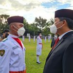 Pengukuhan Paskibra Provinsi Sulut, Perwira Lanud Sam Ratulangi Bertugas