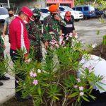 Regu Paskhas TNI AU Dukung Giat Penanaman Pohon di Danau Tondano Sulut