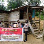 Hari Jadi Polwan ke-73, Polwan Polres Mamuju Tengah Bakti Sosial