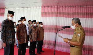 Gubernur Sulbar Kukuhkan Pengurus Dewan Pendidikan Sulbar
