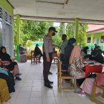 Gerai Vaksin Presisi Polres Mamuju Tengah dan Polsek Topoyo Kembali Serbu di Desa Waiputeh