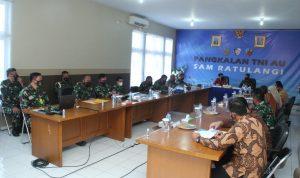 BPKP Kunjungi Pangkalan TNI AU Sam Ratulangi Manado