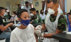 uka Duka Serbuan Vaksinasi Lanud Sam Ratulangi Manado