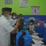 ABM Pantau Vaksinasi Di UPTD Puskesmas Pamboang