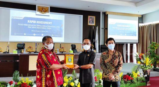 Ombudsman Sulbar Lakukan Rapid Assessment terkait DTKS di Mamuju Tengah