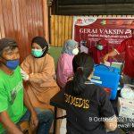 Polres Polman Dirikan Gerai Vaksin di Pasar Baru Polewali