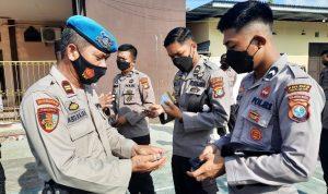 Propam Polres Majene Mendadak Lakukan Pemeriksaan