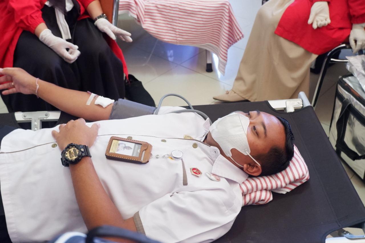 Karantina Pertanian Mamuju Gelar Donor Darah