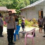 Polsek TobadakKeliling Desa Himbau Masyarakat Untuk Vaksinasi