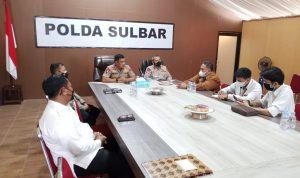 Ombudsman Bertemu dengan Kapolda Sulbar