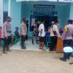 Polsek Topoyo Gelar Grebek Vaksin di Desa Terpencil