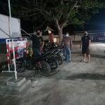 Polsek dan Koramil Patroli dan Razia, Tujuh Unit Sepeda Motor Diamankan