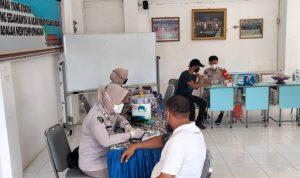 Percepatan Vaksinasi Polda Sulbar Libatkan Universitas Tomakaka