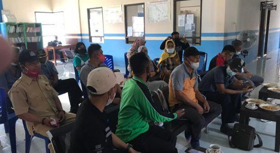 Kapolresta Mamuju Rakor Percepatan Vaksinasi di Kecamatan Kalukku.
